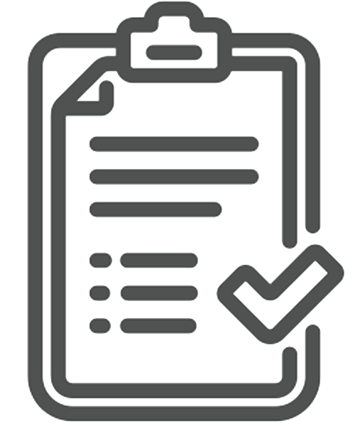 Clipboard with checkmark icon